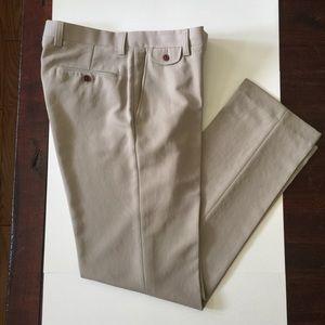 Orvis Microfiber Travel Pants Hidden Pockets 34